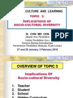 Student Topic 3 Sociocultural Diversity