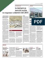 Mina Constancia Iniciará Su Produccion Comercial en El 2015