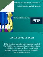 Civil Services