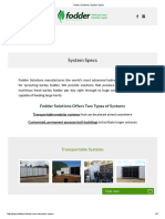 Fodder Solutions _ System Specs