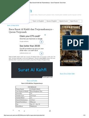 Surah Alkahfi
