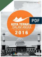 Kota Ternate Dalam Angka 2016