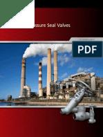 Newco Pressure Seal Valves Brochure