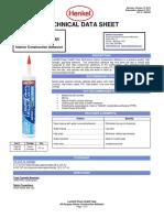Loctite Data Sheet