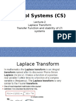 Lecture-2 Transfer Function