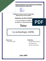 Memoire ADSL