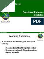 05-1 Creational Pattern - Singleton