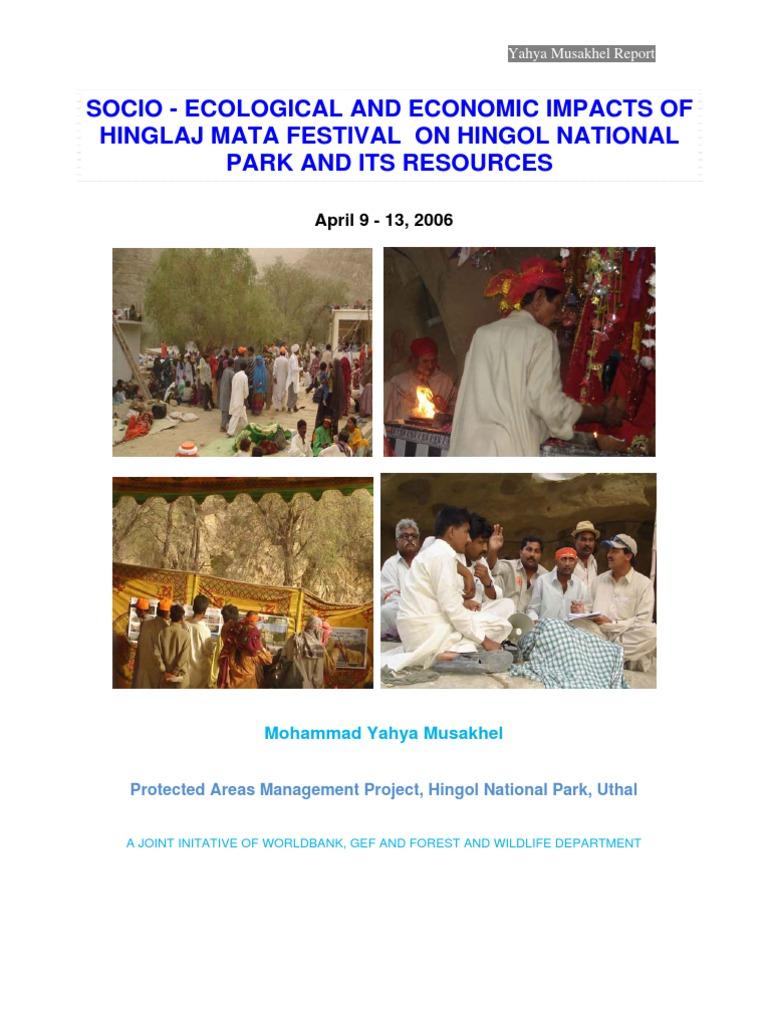 Hinglaj Mata Festival Hingol National Park report | Nature