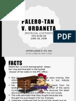 Palero-Tan v. Urdaneta