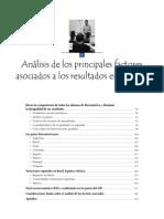 Análisis de los principales factores asociados a los resultados en Ciencia