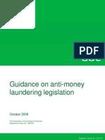 Money Laundering Guidance 2008