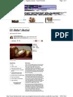 Nigella Lawson - Ed's Mother's Meatloaf Recipe