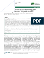 Sexual Dimorphism in Digital Dermatoglypic Traits (1)