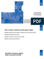 Negative Interest Rates in Advanced Economies