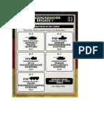 Team Yankee - Unit Card - Panzergrenadierbrigade 1