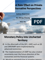 The Interest Rate Effect on Private Saving-Alternative Perspectives