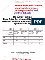 Ultra-Low Interest Rates and Growth in Emerging East Asia From a Hayekian Perspective by Prof. Gunther Schnabl