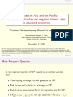 Carry Trades in Asia and the Pacific-Evidence on Ultra-Low and Negative Interest Rates in Advanced Economies