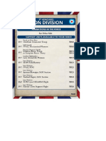 Team Yankee - Unit Card - 3rd Armoured Iron Division - Support Units