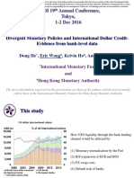 Divergent Monetary Policies and International Dollar Credit- Evidence From Bank-Level Data