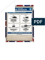 Team Yankee - Unit Card - 3rd Armoured Iron Division
