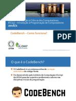 CodeBench - Como Funciona