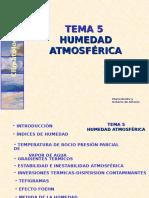 Tema5-HUMEDADATMOSFERICA