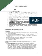Structura Planului Lucrarii Stiintifice