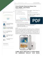 Resset Samsung Galaxy