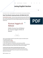 Soal (Test Book) Listening Section UN SMA MA 2015 - Listening English Section