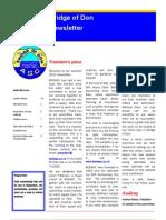 Bridge of Don ASC Summer 2010 Newsletter