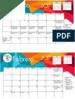 Calendario Diocesano 2017