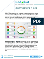 Popular Medical Treatments in India