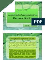 Comprimidos Gastrorretentivos Flavonoides Sinteticos