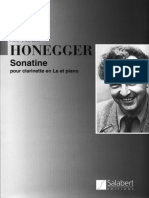 HONEGGER Sonatine.pdf