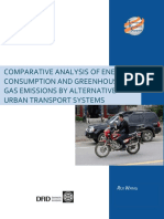 Energy GHG Urban Transport