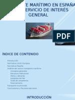 Transporte Maritimo España