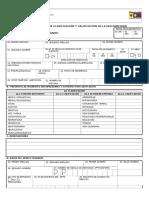 Calificacion Formato Personas Con Discapacidad