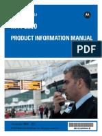 MTP3250 Product Information Manual en 68015000904 D