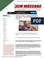 Mídia Sem Máscara - Diário Do Olavo_ Trump, Perseguição Anticristã e a Desonestidade Da Grande _mérdia