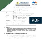 INFORME N° 048 -SEGURIDAD PMTS PLAN - Noviembre 2014