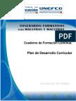 Cuaderno 3 Planificación Des. Curricular