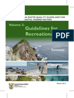 Summary Sa Water Quality Guidelines