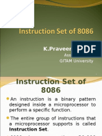 6. Instruction Set of 8086