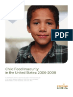 State Child Hunger 2010