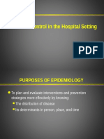 Infection Control in the Hospital Setting
