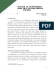 LA IMPUTACIÓN  DE LA PATERNIDAD MATRIMONIAL EN EL SISTEMA JURÍDICO PERUANO.docx