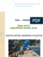 Destilator Sampah Plastik