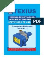 Manual Pressostato TC-4 e TC-5 JULHO 2016