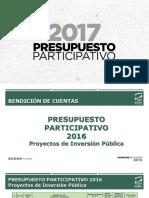 Pp2017 Rendicion de Cuentas